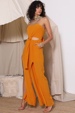 Ladies Papaya Jumpsuit-Prem the Label-Simba Jumpsuit