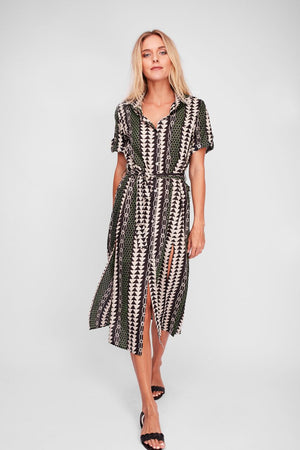 Solito Northern Lights Shirt Dress