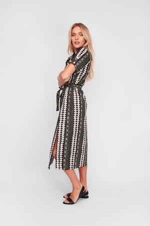 Northern Lights Shirt Dress