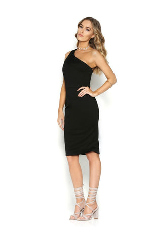 Runaway The Label Static Midi Dress