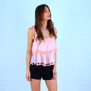 Sundays Tassel Top