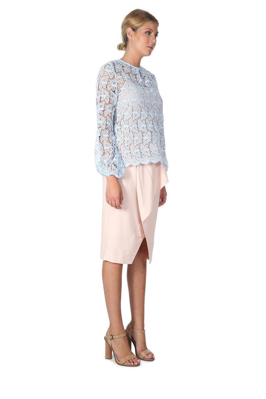 Cooper St Tahu Lace Top
