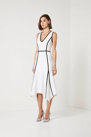 Ladies White Dress-Elliatt-Teresa Dress