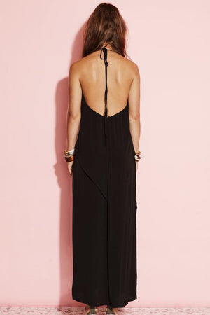 Ladies Dress - Black - August {street} - Too Late Maxi Dress