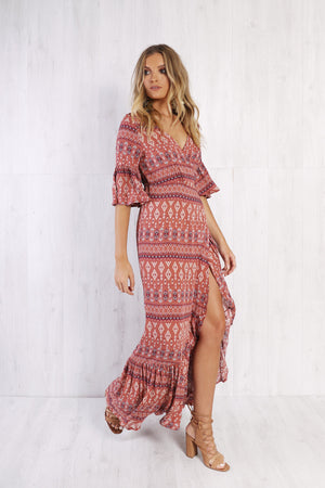 Lost in Lunar Tulum Maxi Dress