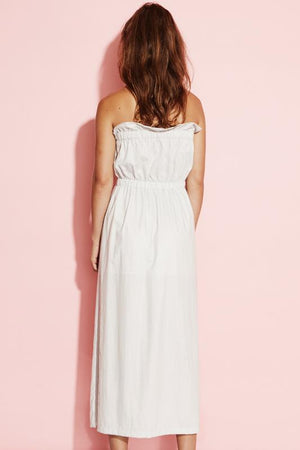 Ladies Dress - Strapless - August ST - Twisted Nerve Midi Dress