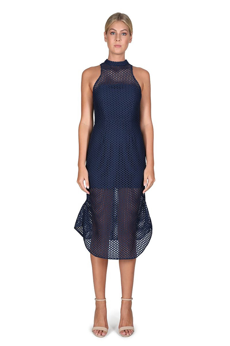 Cooper St Azure Mesh Dress