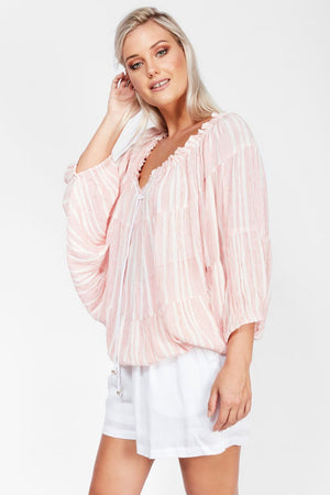 Ladies - Desert Gypsy Poncho Top - Boho