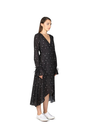 Ladies wrap dress - Cooper St -Ditsy Daisy Maxi Dress