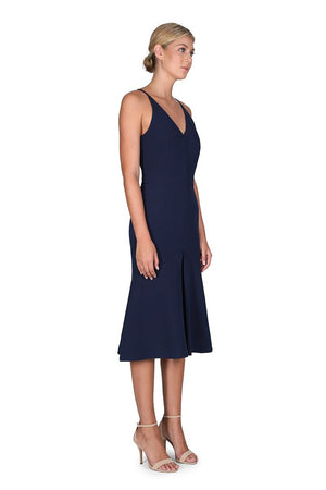 Foxglove Dress Navy