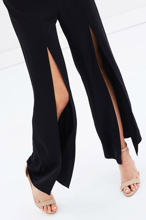 Ebony Split Pants