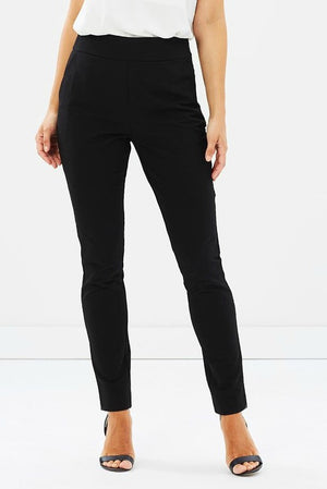 Ladies Black Pants - Cooper St - Obsidian Pants