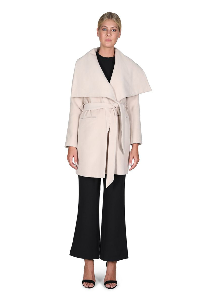 Cooper St Jasmine Collarded Coat