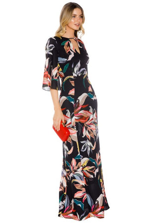 LAdies Floral Maxi - Cooper St - Jourdan Lace Up Back Dress