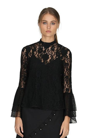 Rosie Lace Tiered Top