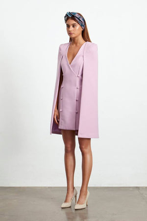 Ladies Dress - Cape - Sorrento Cape - Elliatt - Blush