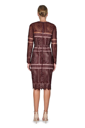 The Last Hurrah Long Sleeve Dress