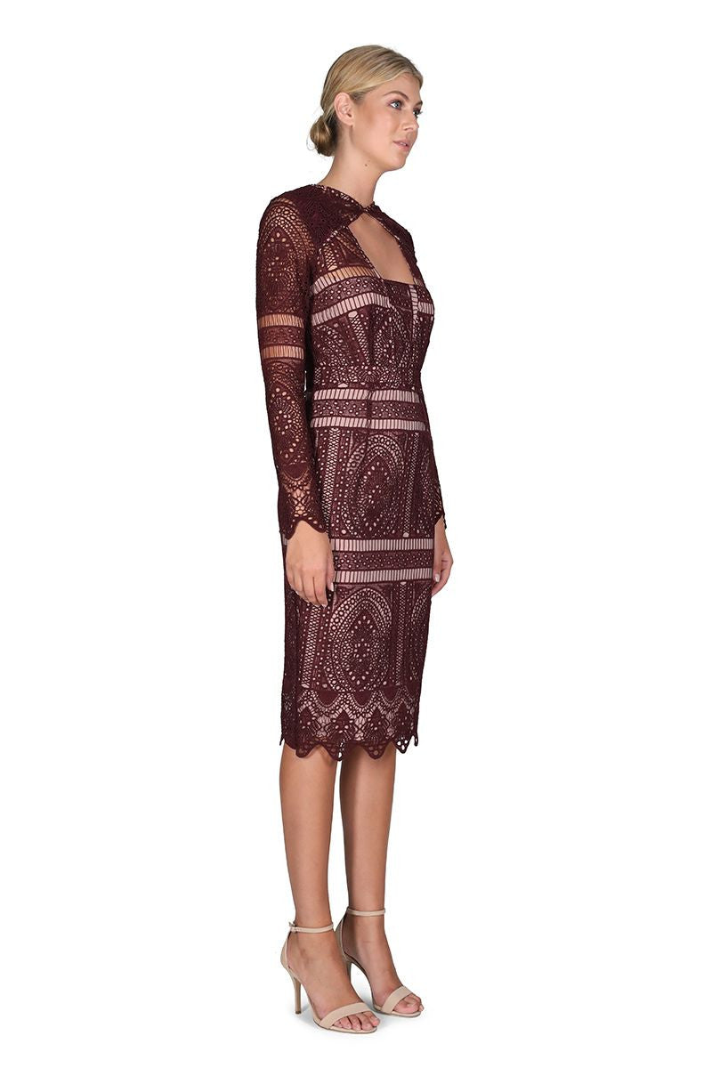 Cooper St The Last Hurrah Long Sleeve Dress