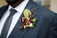 How to wear buttonhole