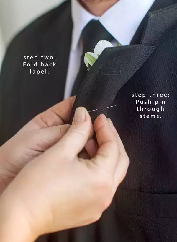 button hole method