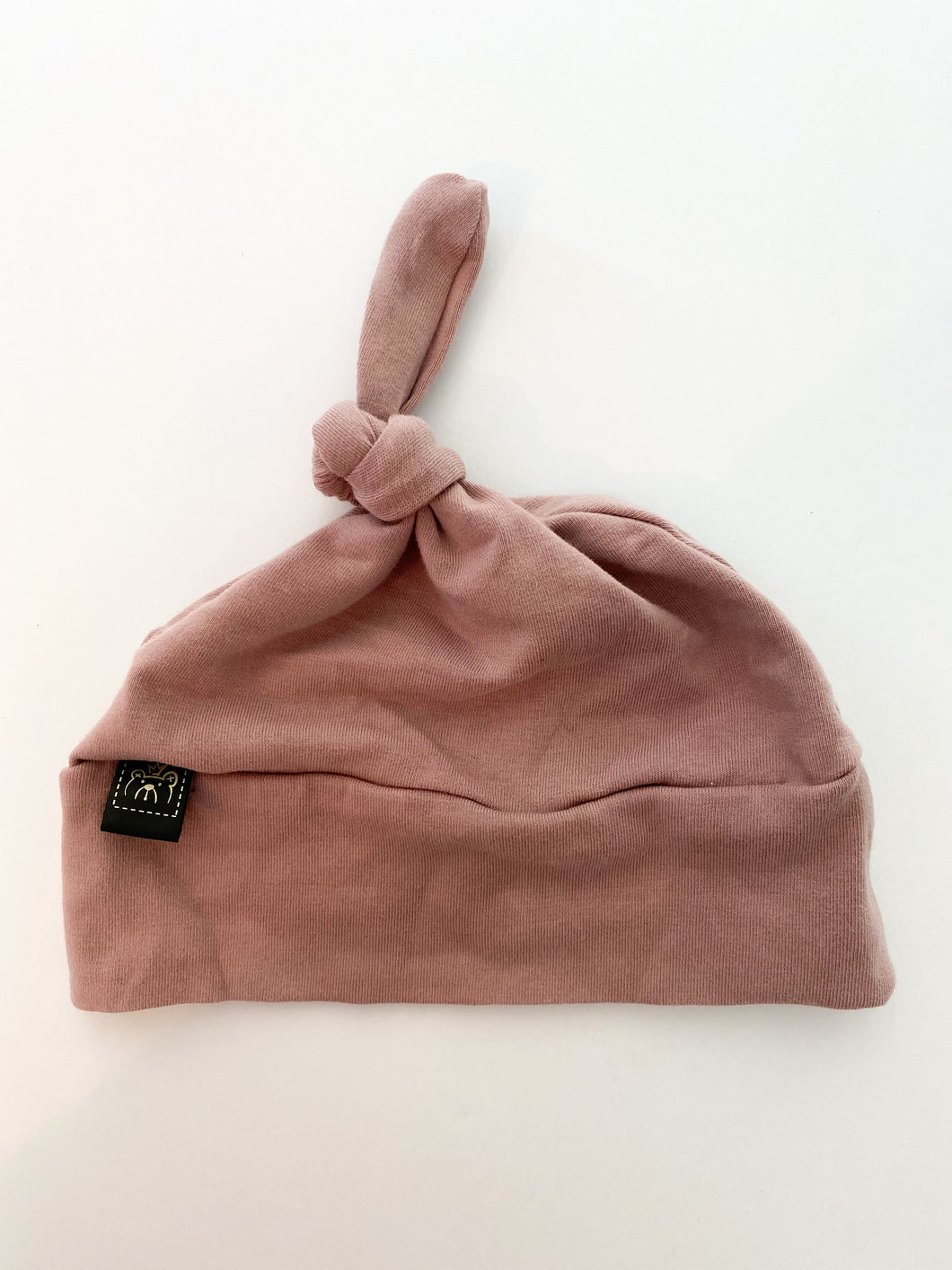 3m-6m knot hat LAB ( like New )Dusty Rose