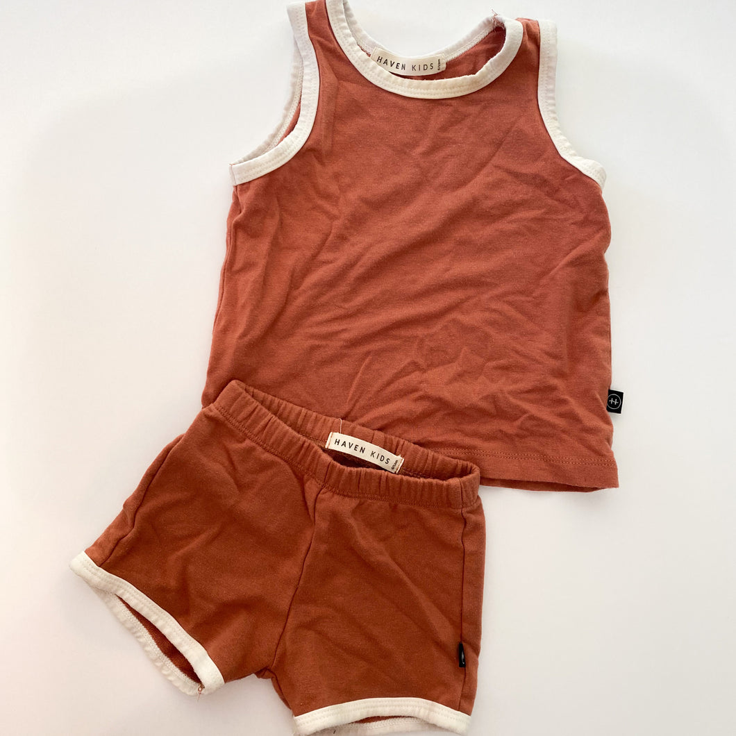 Haven set 6m-12m ( excellent condition)
