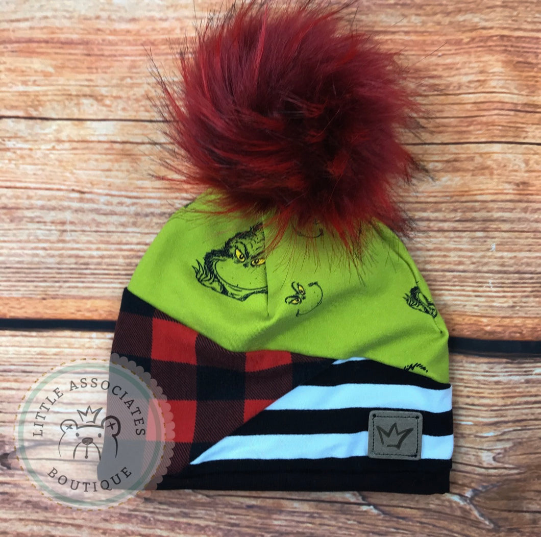 Limited Beanie 3M-6M only Grinch