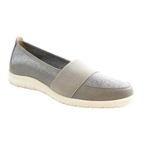 Surprise Grey jeresy stretch casual slip on Bee's by Beacon