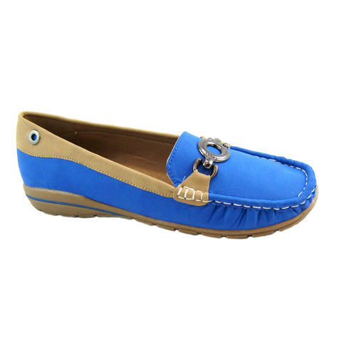 Captiva sailor blue casual loafer by Beacon
