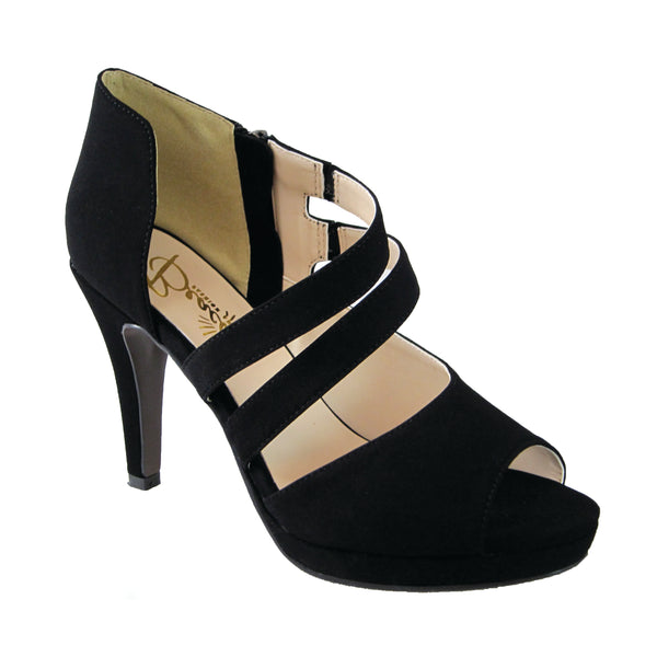 Fiona black pump by Beacon