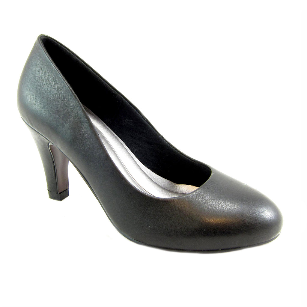 Janice black ginuine leather bump by Beacon Fashion and Fit