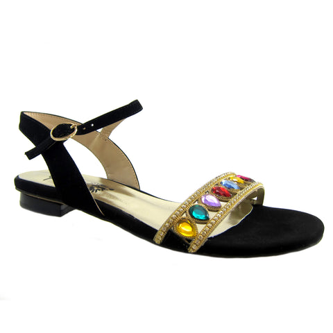 Beacon Majesty Rhienstone jeweled sandal  Beacon Fashion and Fit