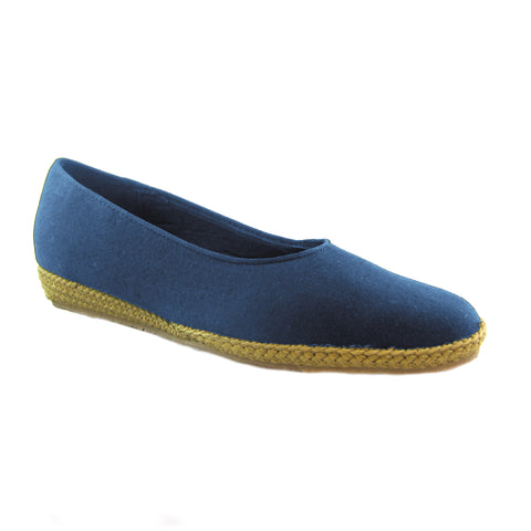 Phoenix navy classic espadrille by Beacon