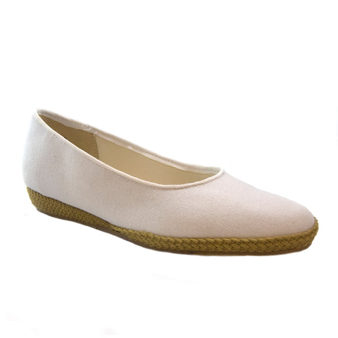 Phoenix white classic espadrille by Beacon