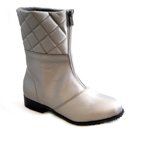 Quebec grey rain weather boot by Beacon Sensible Soles