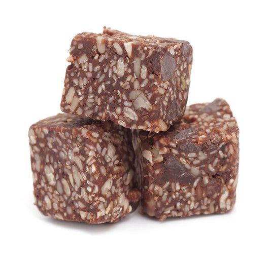 Chocolate Paradise Energy Chunks Made With Dried Fruit, Seeds, and Nuts - Divani Chocolatier in Foxburg, Pennsylvania