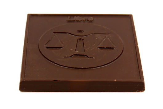 Divani Zodiac Bar, Libra Handmade With Belgian Dark, Milk or White Chocolate - Divani Chocolatier in Foxburg, Pennsylvania
