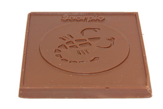 Divani Zodiac Bar, Scorpio Handmade With Belgian Dark, Milk or White Chocolate - Divani Chocolatier in Foxburg, Pennsylvania