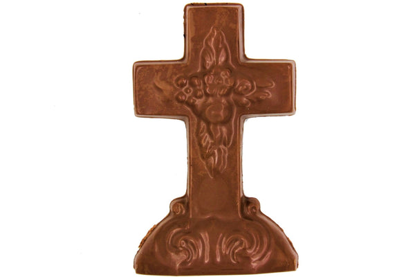 Easter Cross in Belgian Dark, Milk or White Chocolate - Divani Chocolatier in Foxburg, Pennsylvania
