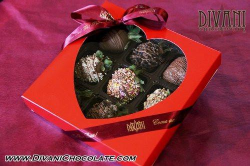 Gourmet Chocolate Covered Strawberries - Princess Box - Divani Chocolatier in Foxburg, Pennsylvania