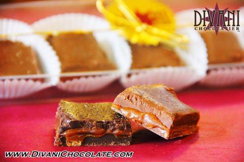 Sea Salted Caramel Handmade With Belgian Dark or Milk Chocolate - Divani Chocolatier in Foxburg, Pennsylvania