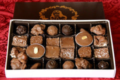 Treasure Box™ Assortment, 24pc Box with Belgian Dark and Milk Chocolate Pieces - Divani Chocolatier in Foxburg, Pennsylvania