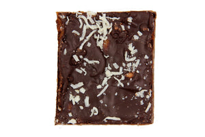 Tropical Tease™ Bark Handmade With Caramel and Belgian Dark or Milk Chocolate - Divani Chocolatier in Foxburg, Pennsylvania
