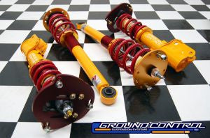 Complete Coilover Kit, Mitsubishi 3000GT/Stealth AWD/VR4 (with Camber/Caster Plates)