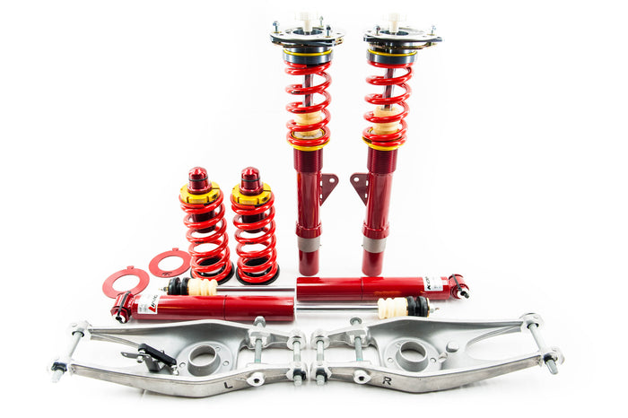 Complete Coilover Kit E90/E92 & 1 Series Street/School Kit (Double Adjustable)