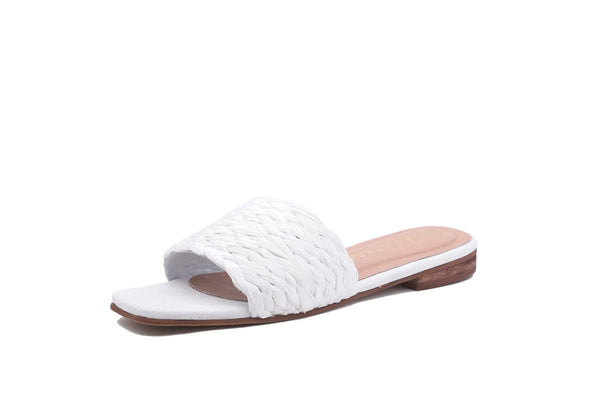 Kaanas Key Largo Sandal in White