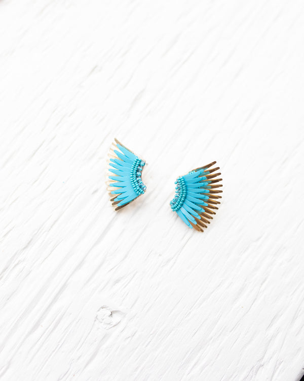 Mignonne Gavigan Cerulean Blue  Mini Madeline Earrings