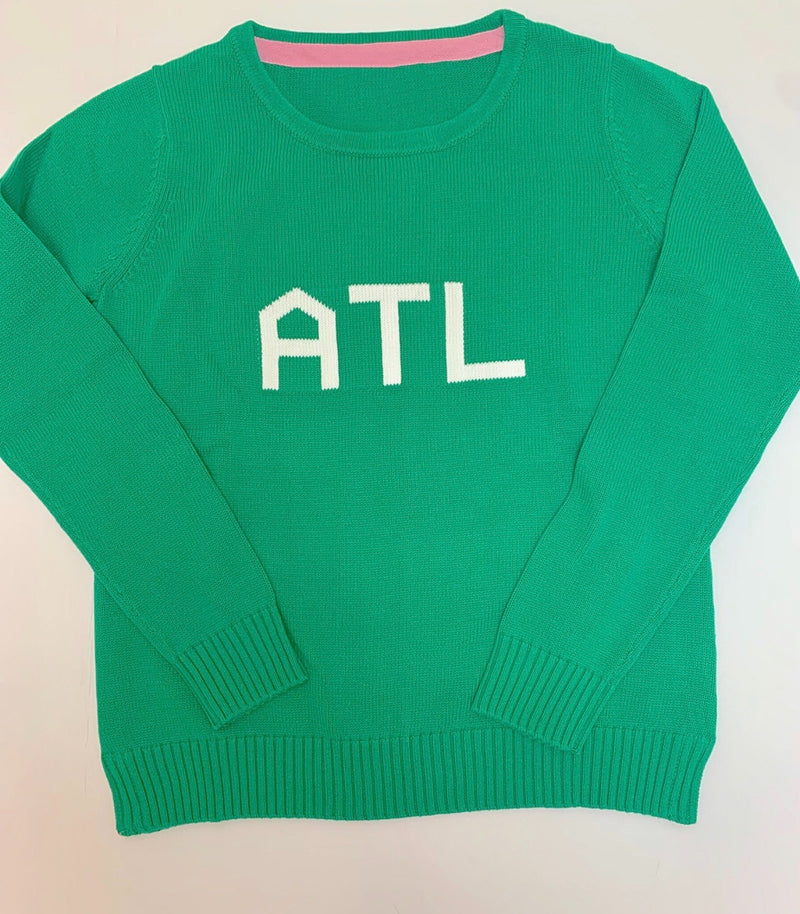 Green ATL Knit Sweater: Benefitting Local Food Banks