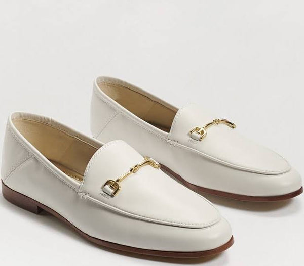 Loraine White Loafer by Sam Edelman