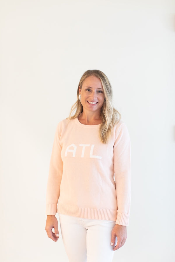 Blush ATL Knit Sweater: Benefitting Local Food Banks